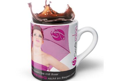 Tasse mit Aufdruck
